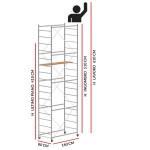 Trabattello JOLLY 160 (Altezza lavoro 6,10 metri)
