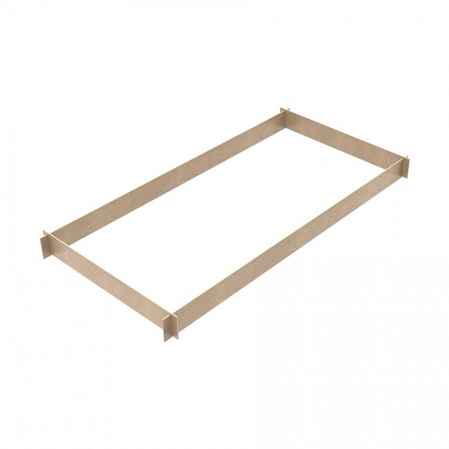 Fermapiede in legno 4 lati (per mod. TITANIUM PRO)