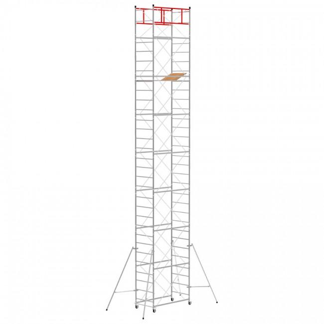 Trabattello M4 LUX base normale (Altezza lavoro 10,85 metri)