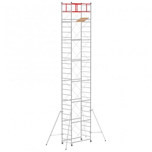 Trabattello M4 LUX base normale (Altezza lavoro 9,70 metri)