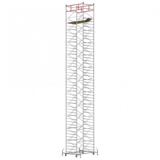 Trabattello TITANIUM PRO (Altezza lavoro 15,60 metri)