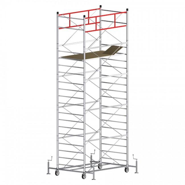 Trabattello TITANIUM PRO (Altezza lavoro 7,40 metri)